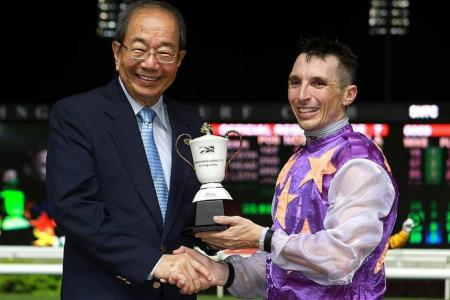 War Affair is the best horse I've ridden in Singapore, says beasley