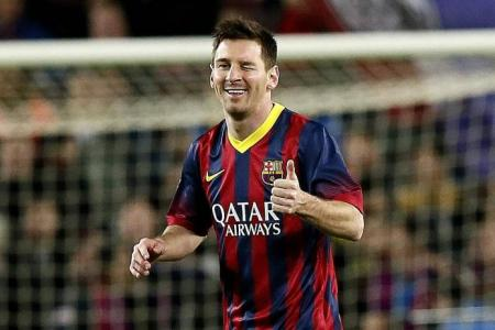 Messi agrees new Barca deal
