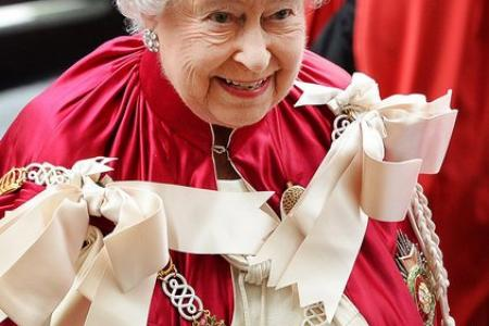 Queen Elizabeth is only the 285th richest person in her country