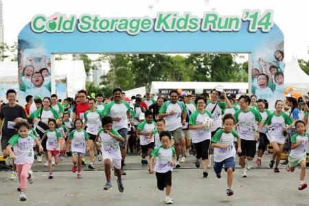 More than 5,700 take part in Cold Storage Kids Run