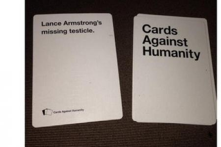 Lance Armstrong finds missing testicle in card game