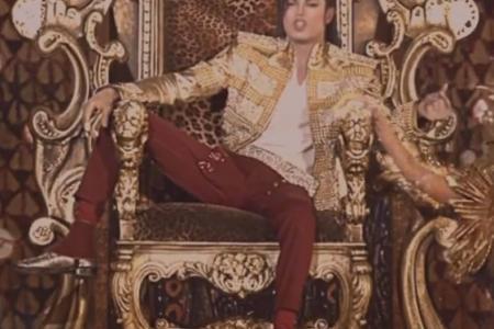 'Michael Jackson' appears at Billboard awards