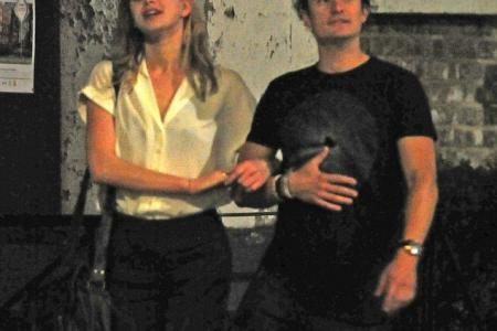Spotted: Orlando Bloom out on the town with French girlfriend