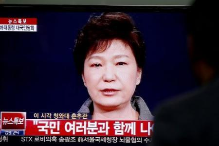 Tearful S Korea president says responsibility 'lies with me'
