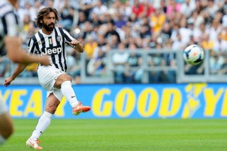 Look out England! Italy's Pirlo scores stunning free-kick