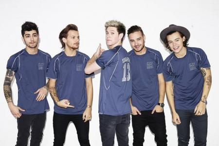 One Direction here next year