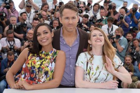 Ryan Reynolds booed at Cannes