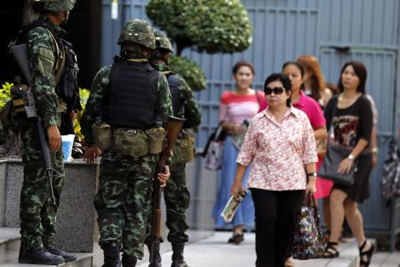 Thai military declares martial law but says move is not a coup