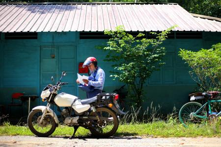 GALLERY: A day in the life of a Pulau Ubin postman