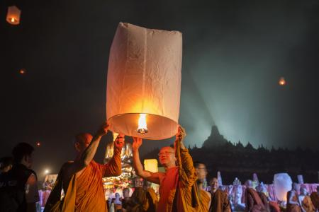 GALLERY: 13 Beautiful pictures of Vesak Day from around Asia