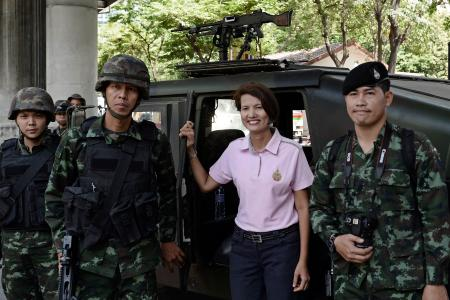 Martial law in Bangkok. But first, let me take a selfie