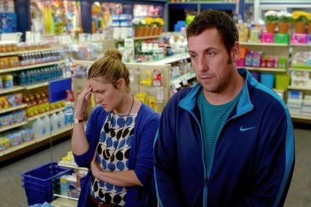 ETERNAL GOOFS Adam Sandler and Drew Barrymore together again in new movie