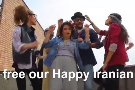 Pharrell speaks out after six young Iranians jailed for spreading 'happiness'