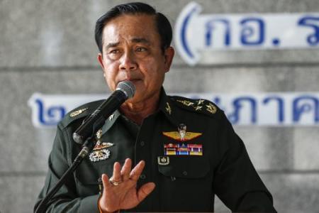 BREAKING: Thai military announces coup