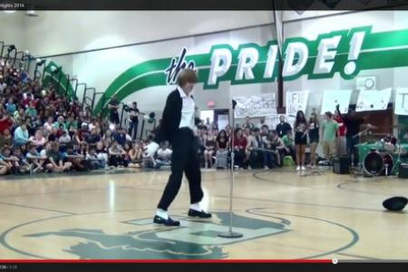 Teen outperforms Michael Jackson's hologram