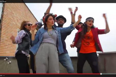 Six Iranians arrested for dancing to Pharrell's 'Happy' released on bail