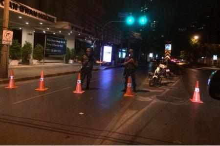 UPDATE: Empty streets in Bangkok as curfew kicks in
