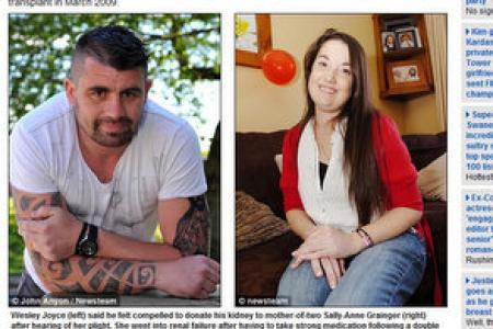Ex-con donates kidney to ailing stranger