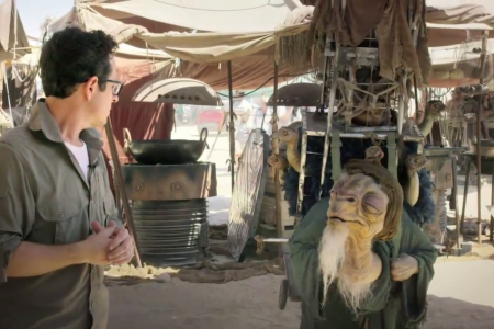 Catch a glimpse of Star Wars Episode 7