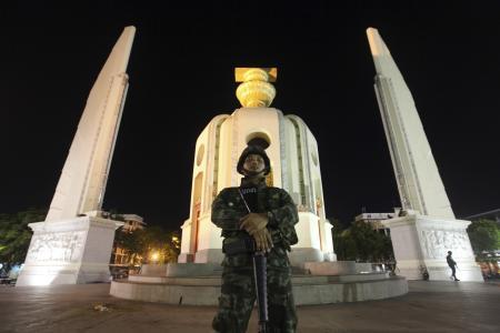 Calm amid the coup