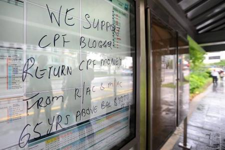 Bus stops defaced with graffiti
