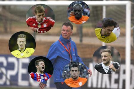 7 transfer targets van Gaal can spend his £150m Man Utd war chest on