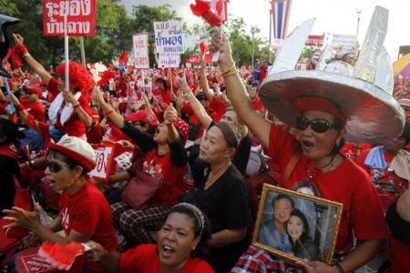 The power of $1.15 to Thaksin's stronghold