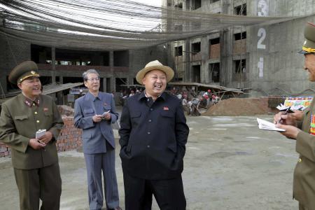 Kim Jong Un joins Pharrell's 'Funny hat' club