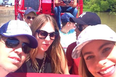 Sofia Vergara is all smiles despite split from longtime beau Nick Loeb