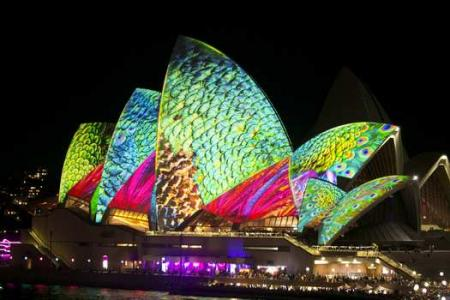 You've never seen Sydney Opera House looking like this