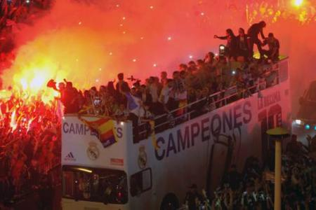 From the bizarre to the cute: 7 moments from Real Madrid's La Decima celebrations