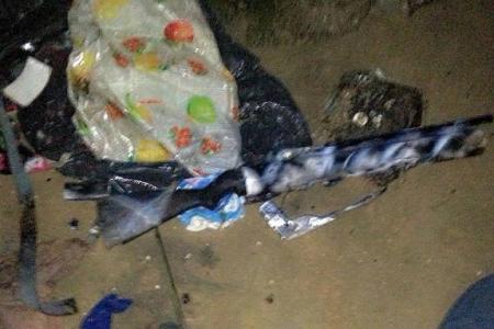 Rifle-like object found off Sembawang