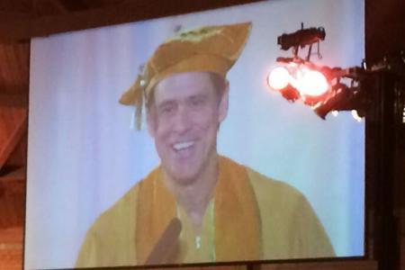 Jim Carrey Delivers Emotional Commencement Speech
