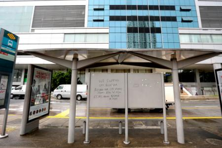 """Police arrest 71-year-old over """"Support CPF blogger"""" vandalism"""