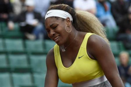 Another French Open shocker! Serena dumped out in second round