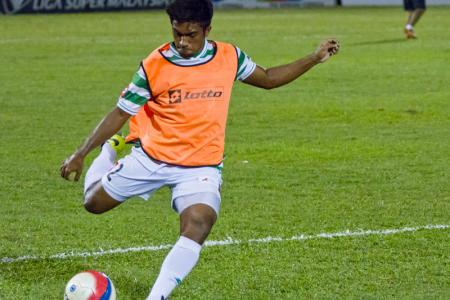 This stunner of a goal by Geylang Int'l has local football fans buzzing