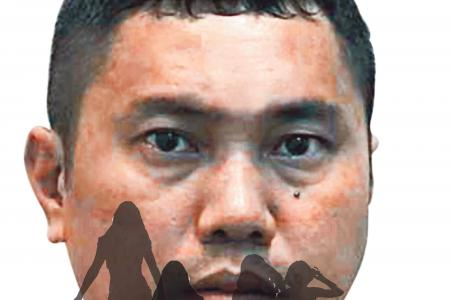 Waiting boyfriend shocks rapist