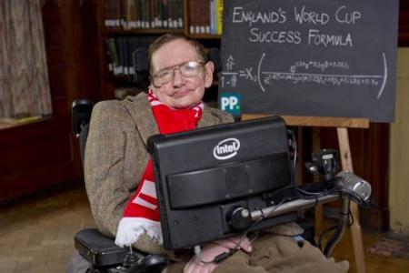 Suarez is a ballerina! Stephen Hawking weighs in on England's World Cup chances