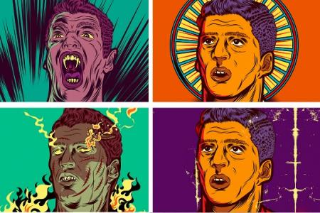 Check out the awesome art on this Suarez story