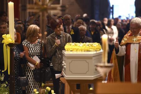 """Thousands attend funeral service of """"bucket list"""" teen Sutton"""