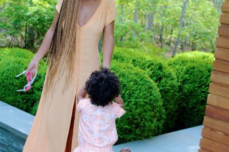 Queen Bey treat fans with photos of Blue Ivy