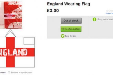 Does wearable England flag look like Ku Klux Klan outfit?