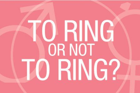 To ring or not to ring?