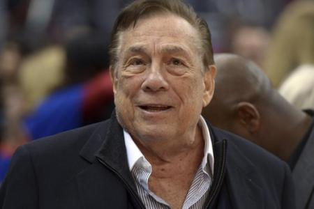 Why was Donald Sterling coming out of an African-American church?