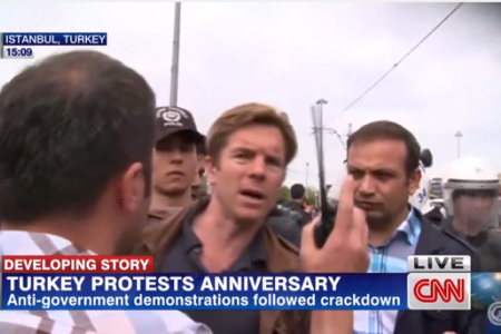 VIDEO: CNN reporter detained by police on air
