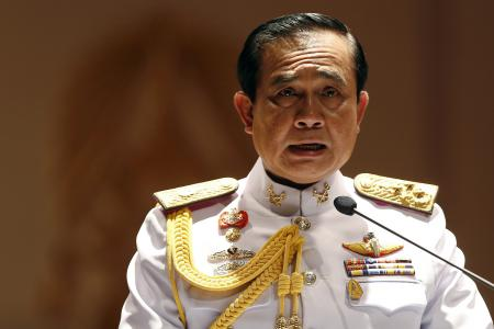 There's a new Thai TV star - coup leader General Prayuth