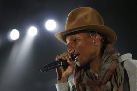 Want to make a hit song? Get personal, Pharrell says