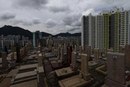 In HK, it costs more to house the dead than the living