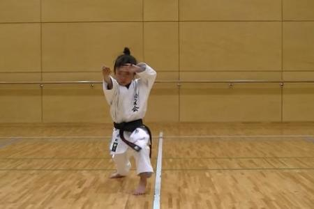 This seven-year-old girl can kick your butt