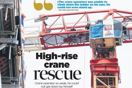 Elite Dart rescuers recount crane operator rescue